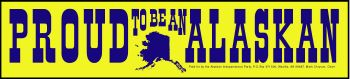 Proud to be Alaskan